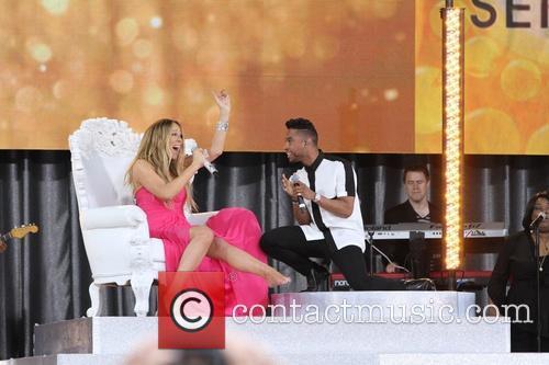Mariah Carey and Miguel 5
