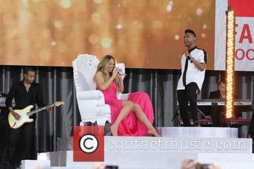 Mariah Carey and Miguel 6