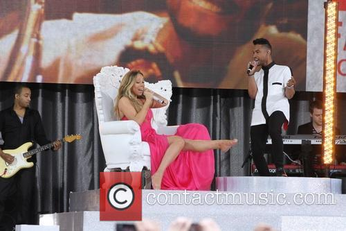 Mariah Carey and Miguel 7