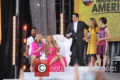 Mariah Carey and Miguel 1