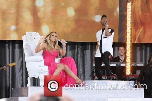 Mariah Carey and Miguel 8