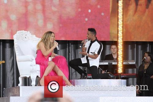 Mariah Carey and Miguel 9