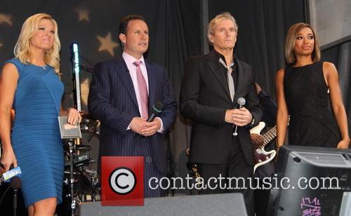 Gretchen Carlson, Brian Kilmeade, Michael Bolton and Amanda Brown 2