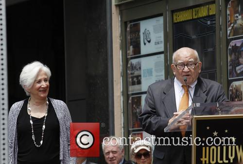 Olympia Dukakis and Ed Asner 5