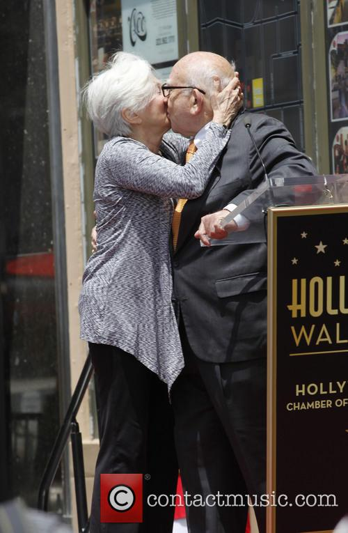 Olympia Dukakis and Ed Asner 7