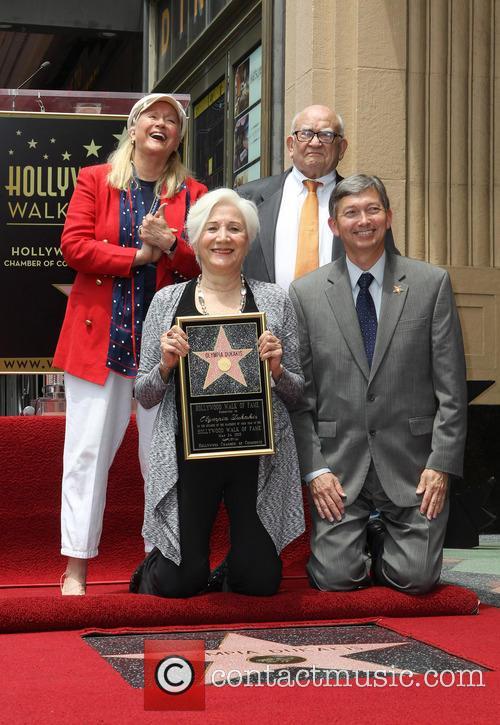 Diane Ladd, Olympia Dukakis, Ed Asner and Leron Gubler 3