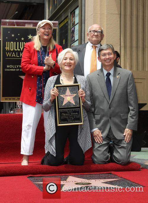 Diane Ladd, Olympia Dukakis, Ed Asner and Leron Gubler 9