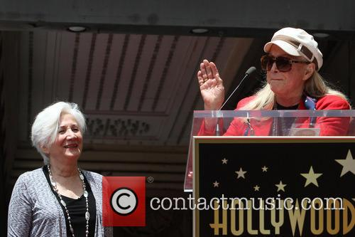 Olympia Dukakis, Diane Ladd, On The Hollywood Walk Of Fame