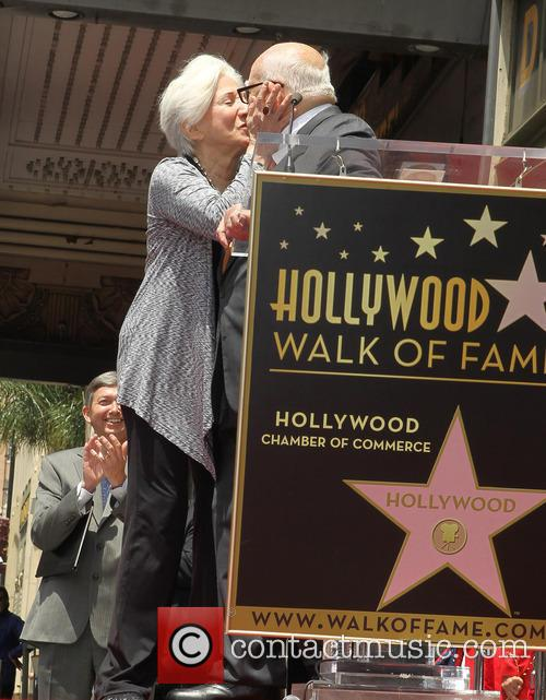 Olympia Dukakis, Ed Asner, On The Hollywood Walk Of Fame