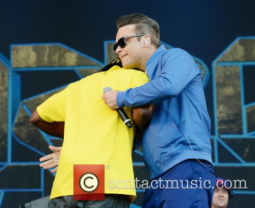 Robbie Williams and Dizzee Rascal 1