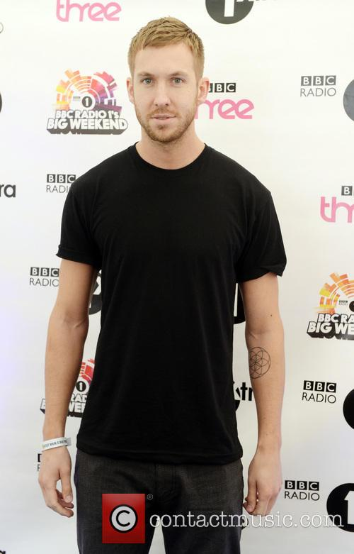 Calvin Harris at BBC Radio 1's Big Weekend