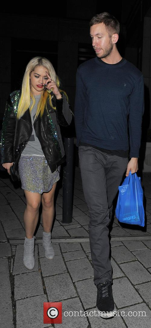 Rita Ora and Calvin Harris 10