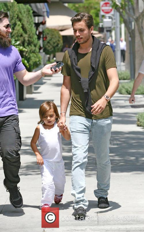 Scott Disick and Mason Disick 2