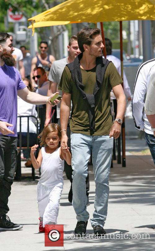 Scott Disick and Mason Disick 4