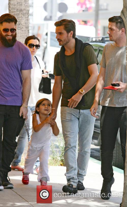 Scott Disick and Mason Disick 5