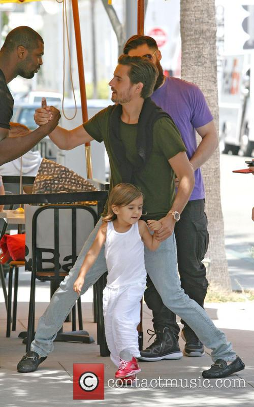 Scott Disick and Mason Disick 6