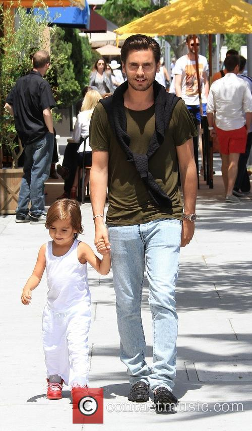 Scott Disick and Mason Disick 7