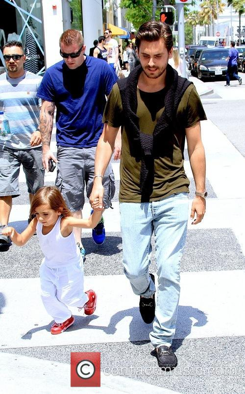 Scott Disick and Mason Disick 8