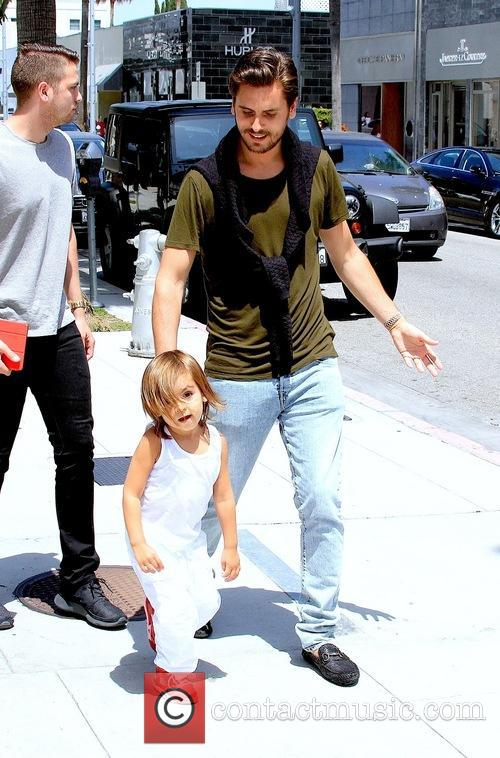 Scott Disick and Mason Disick 9