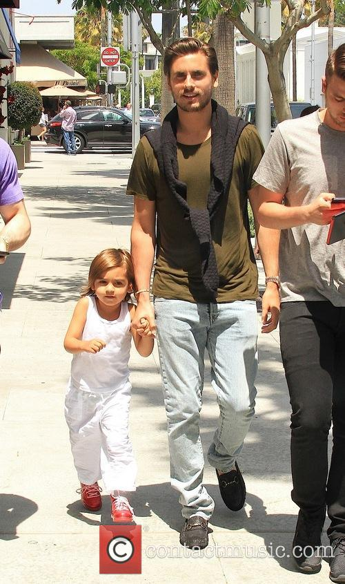 Scott Disick and Mason Disick 10