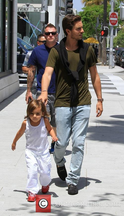 Scott Disick and Mason Disick 11