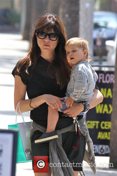 Selma Blair and Arthur Bleick 2