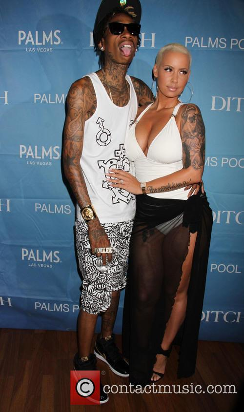 Wiz Khalifa and Amber Rose 11