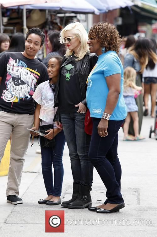 Gwen Stefani out and about in Chinatown