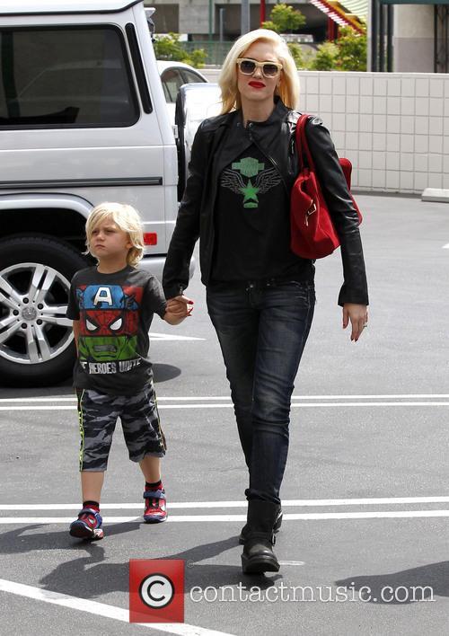 Gwen Stefani and Zuma Rossdale 6