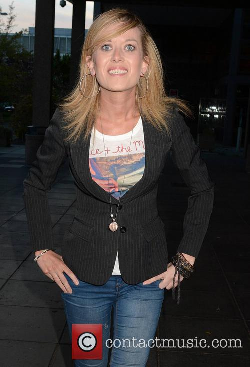 maureen catterson celebrities outside the rte studios 3686727