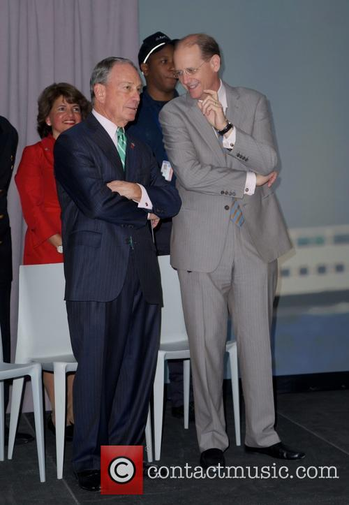 Mayor Michael Bloomberg and Richard Anderson 6