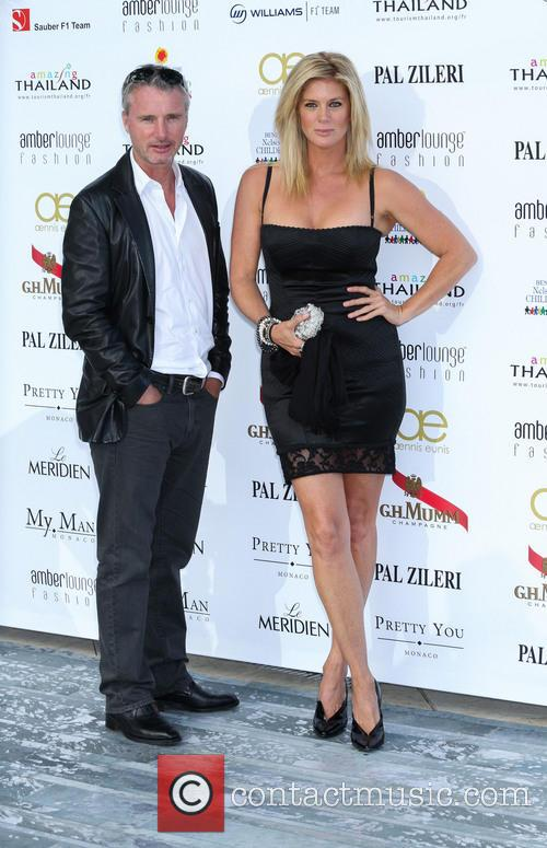 Rachel Hunter and Eddie Irvine