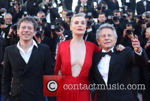 Mathieu Amalric, Emmanuelle Seigner and Roman Polanski 1