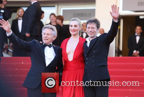 Mathieu Amalric, Emmanuelle Seigner and Roman Polanski 3