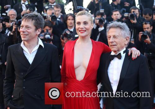 Mathieu Amalric, Emmanuelle Seigner and Roman Polanski 4