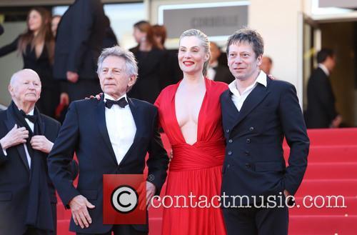 Mathieu Amalric, Emmanuelle Seigner and Roman Polanski 5