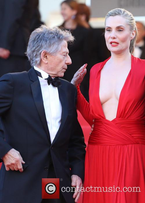Emmanuelle Seigner and Roman Polanski 1