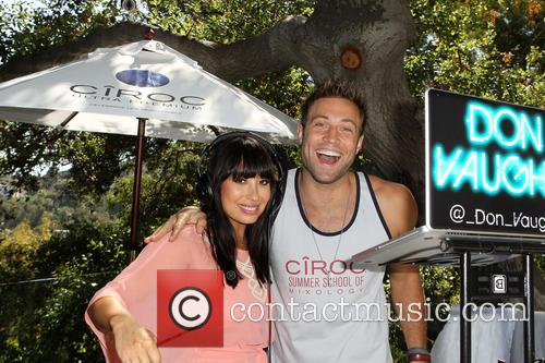 Cheryl Burke, Derek Hough and CIROC Summer Birthday Bash 17