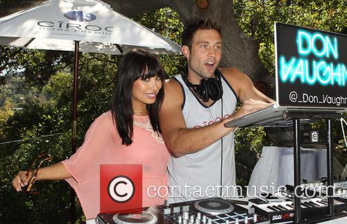 Cheryl Burke, Derek Hough and CIROC Summer Birthday Bash 25