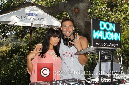 Cheryl Burke, Derek Hough and CIROC Summer Birthday Bash 28