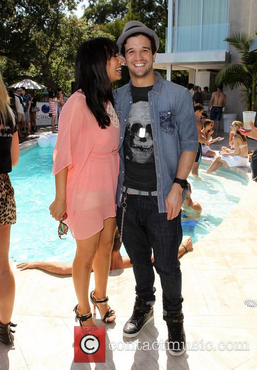 Cheryl Burke, Derek Hough and CIROC Summer Birthday Bash 45