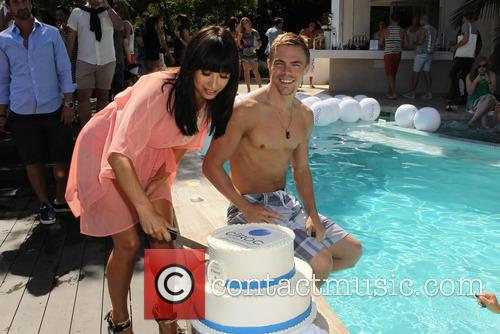 Cheryl Burke, Derek Hough and CIROC Summer Birthday Bash 76