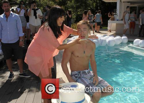 Cheryl Burke, Derek Hough and CIROC Summer Birthday Bash 102