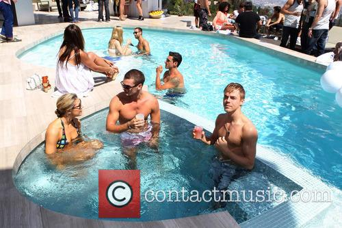 Cheryl Burke, Derek Hough and CIROC Summer Birthday Bash 150