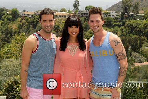 Cheryl Burke, Ben Russo and Jarred Russo 2