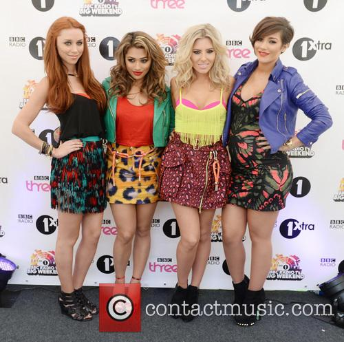 The Saturdays at BBC Radio 1's Big Weekend