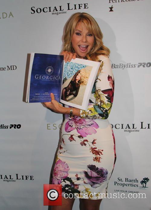 Christie Brinkley celebrates her 'Social Life Magazine' cover...
