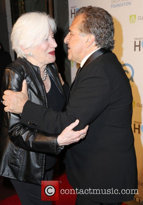 Olympia Dukakis and Jim Gianopulos 2