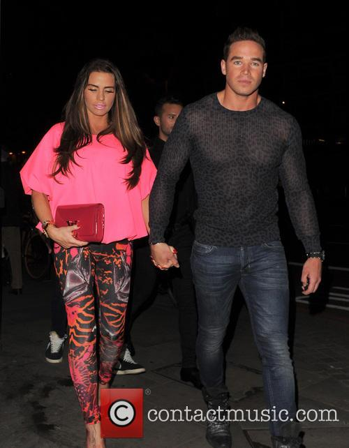Katie Price, Jordan and Kieran Hayler 1