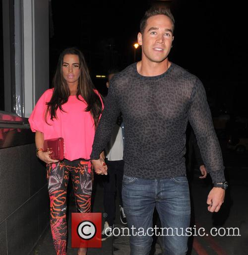 Katie Price, Jordan and Kieran Hayler 2